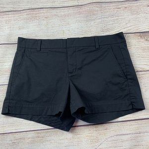 Vince Black Chino Flat Front City Shorts 8